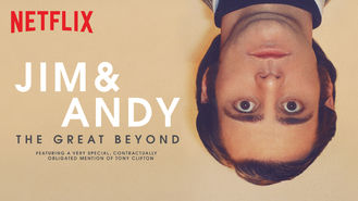 Netflix Box Art for Jim & Andy: The Great Beyond -...