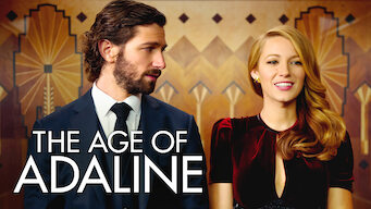 Is The Age Of Adaline 2015 On Netflix Usa
